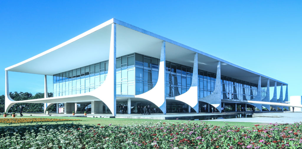 Palácio do Planalto: official workplace of the President of Brazil