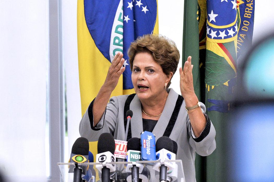 Presidente da República Dilma Rousseff concede entrevista