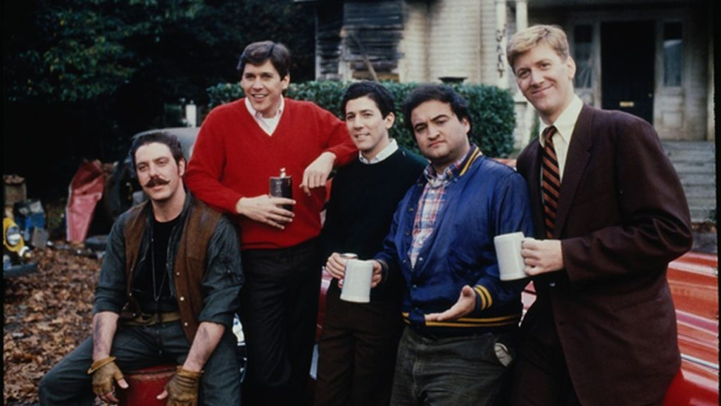 The cast of 'National Lampoon's Animal House.' (Courtesy of Universal Pictures)